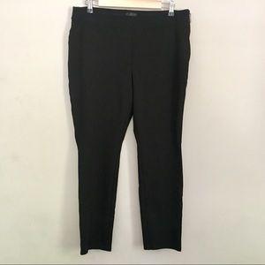 WHBM body comfort the skinny stretch black pants
